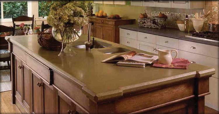 Concrete Countertops Western Branch Concrete Inc