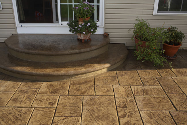 Stamped Concrete | Western Branch Concrete Inc. | Custom ...